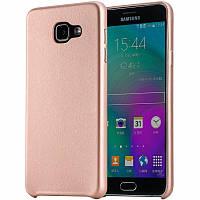 Бампер для Samsung Galaxy A5 (A510 2016) - Rock Touch Series, розовое-золото