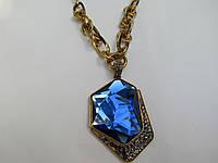 """Колье """"Синий кристалл"""" Б-356"""