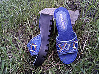 8ddcffd80581 Шлепанцы джинсовые на платформе в Украине. Сравнить цены, купить ...