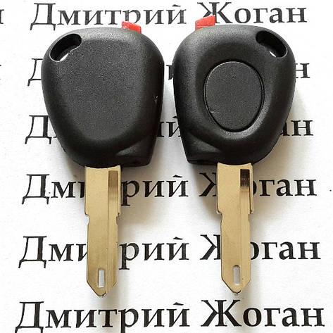 Корпус авто ключа під чіп для RENAULT (Рено) лезо NE 73, фото 2