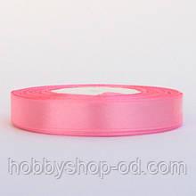 Лента атласная 1,2 см  розовая