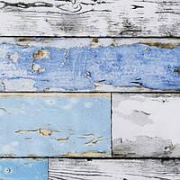 Самоклейка, дерево, синий, GEKKOFIX, Голландія, 45 cm , фото 2