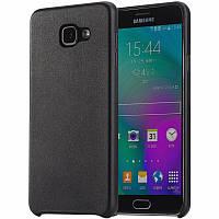 Бампер для Samsung Galaxy A5 (A510 2016) - Rock Touch Series, черный