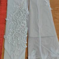 Перчатки свадебные #1 белые