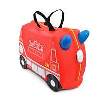 Валіза дитячий на колесах Frank Fireman Trunki TRU-0254