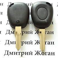 Корпус авто ключа для Renault Laguna (Рено Лагуна)1 - кнопка, лезвие VAC102