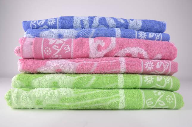 Банное махровое полотенце (MB07)   6 шт., фото 2