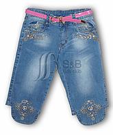 Капри джинсовые для девочки