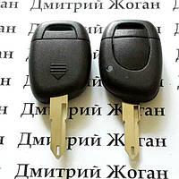 Автоключ для RENAULT (Рено) 1 - кнопка,лезвие NE 73, с чипом ID46 / 433MHZ