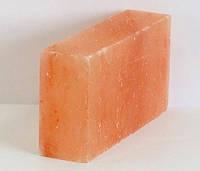 Гималайская розовая соль, кирпич 20х10х5см для бани и сауны