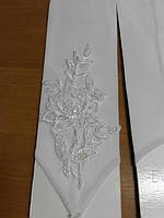Перчатки свадебные белые #3