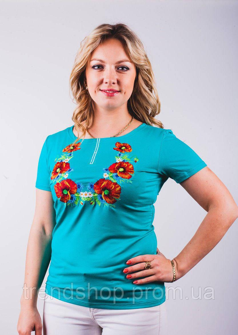 Женские футболки с вышивкой купить в Украине  bb3912cf43649