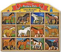 Фигурки лошадей с конюшней 35,5 х 4 х 33 см