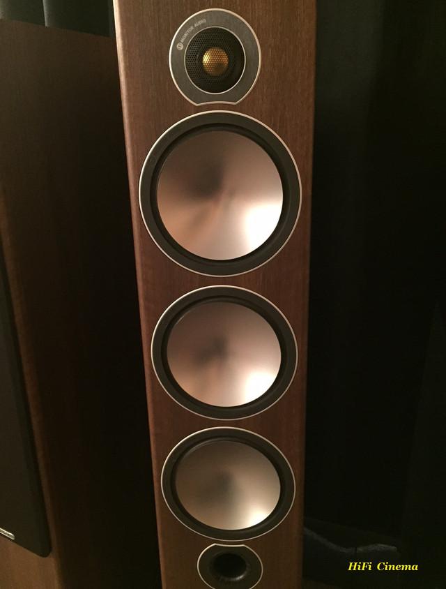 Акустическая система Monitor Audio Bronze 6 в цвете натуральный орех