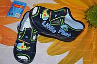 Обувь детская, тапочки, р.23,25,26. Польская обувь. обувь для мальчика.