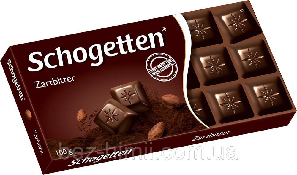 Темный шоколад Шогетен, Германия. 100г.