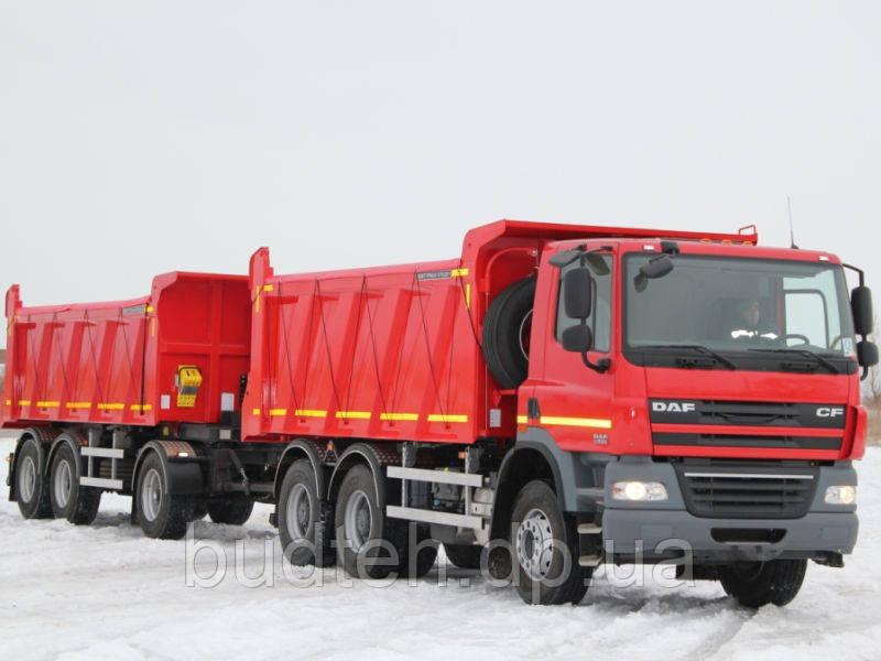 Аренда самосвала DAF 40 т в Днепропетровске