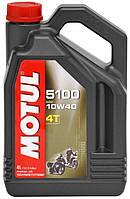 Моторное масло Motul 5100 4T 10W-40 4л
