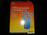 Microsoft Office 2010 Home and Business 32/64-bit, English, PC Attach Key, T5D-00835, BOX