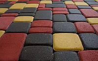 """Тротуарная плитка """"старый город"""" 60 мм. ярко-желтая, фото 1"""