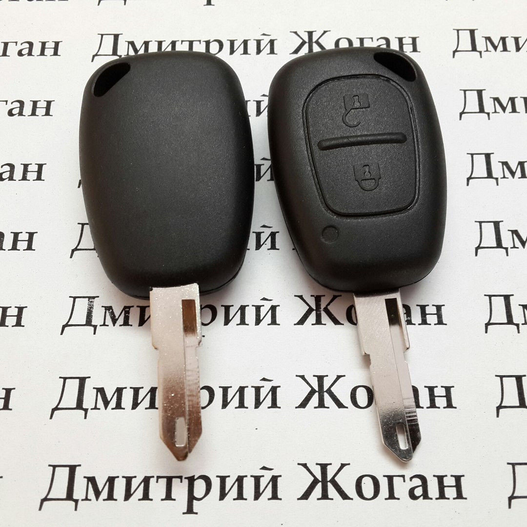 Автоключ для RENAULT (Рено) Master, Traffic, лезвие NE 73, с чипом ID46 (PCF7946), частота 433MHZ