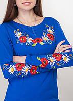 Женская вышитая кофта, стилизованная под украинскую вышиванку