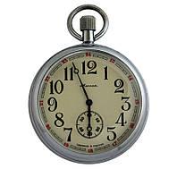 Молния карманные механические часы Россия