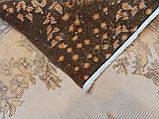 Оранжевый ковер винтажный классический безворсовый , фото 3