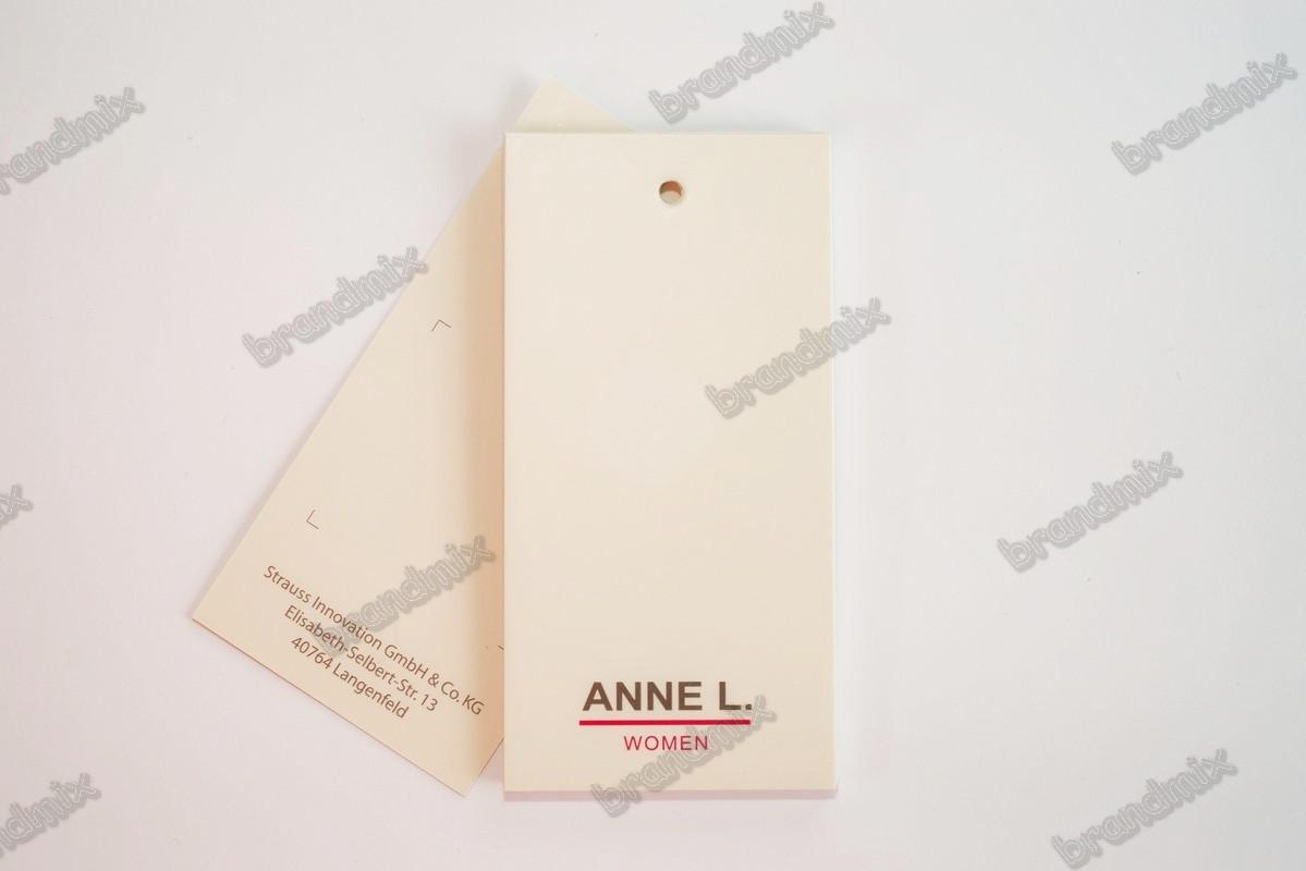 Етикетка навісна з картону