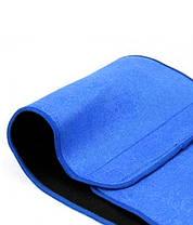 Пояс для похудения Waist Trimmer Universal с эффектом сауны, фото 3