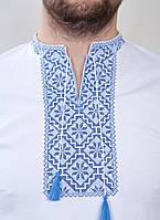 Мужская вышитая футболка в украинском стиле