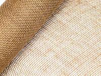 Отрез мешковина-сетка натуральная 50х50 см, фото 1