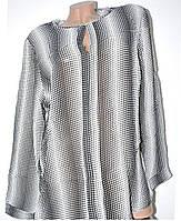 Нарядная женская блузка батальная