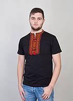Мужская футболка с вышивкой