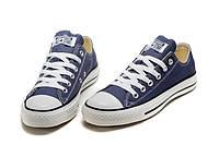 Кеды Converse All Star синие низкие Размер: 35-44