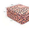 Дорожная косметичка с отстегивающимся кармашком Monopoly Travel (Pink Leo) реплика , фото 2