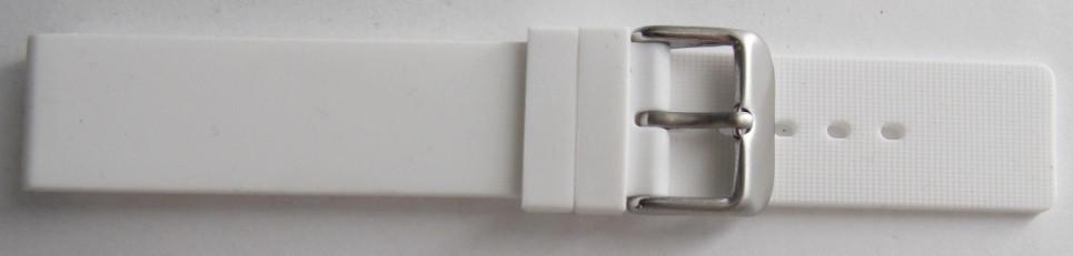 Ремешок каучук (Польша) 18 мм. Белый