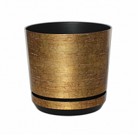 Горшок декоративный 02, Plastidea 12,5 см