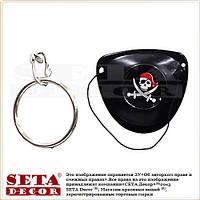Набор для пирата: серьга и повязка на глаз
