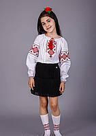 Вышитая детская блуза