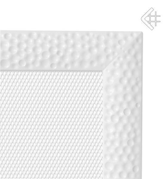 Вентиляционная решетка для камина KRATKI Venus 17х17 см белая