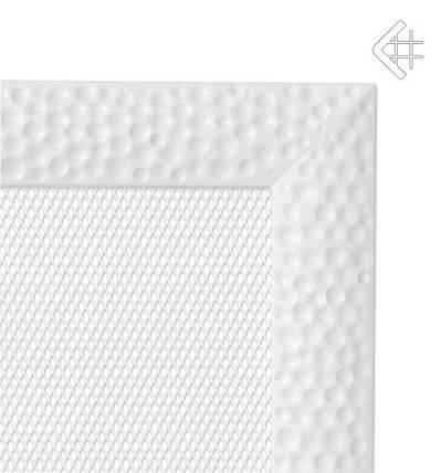 Вентиляционная решетка для камина KRATKI Venus 17х17 см белая, фото 2