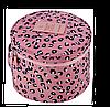 Круглый дорожный органайзер для нижнего белья Monopoly Travel (Pink Leo) реплика , фото 2