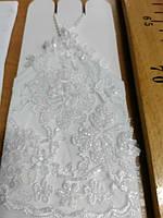 Перчатки свадебные #9 белые
