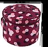 Круглый дорожный органайзер для нижнего белья Monopoly Travel (Daisy Purple) реплика , фото 2