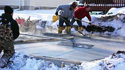 ППЭ Полифом для укрытия бетона в зимнее время