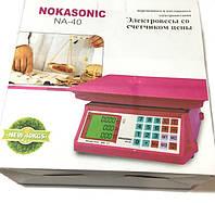 Торговые весы Nokasonic NA-40 до 40кг