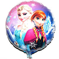 Фольгированный шар Эльза и Анна 46см Китай