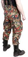 Брюки армии Швейцарии M70, камуфляж Alpenflage