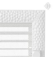 Вентиляционная решетка KRATKI VENUS 17Х37 СМ белая с жалюзи